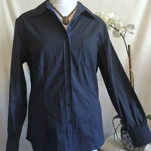 NWT Christopher & Banks Long Sleeve Button Down
